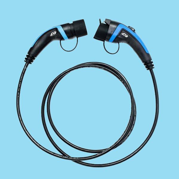 accesorios cables - cargadores para vehículos eléctricos