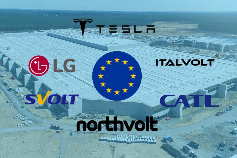 Gigafactorías en Europa: buscando la autosuficiencia energética