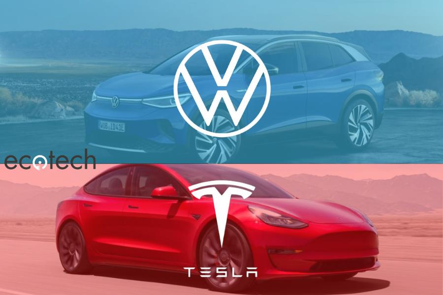 Tesla vs Volkswagen: duelo por la electrificación